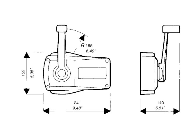 lake side chandlery ultraflex single lever engine control